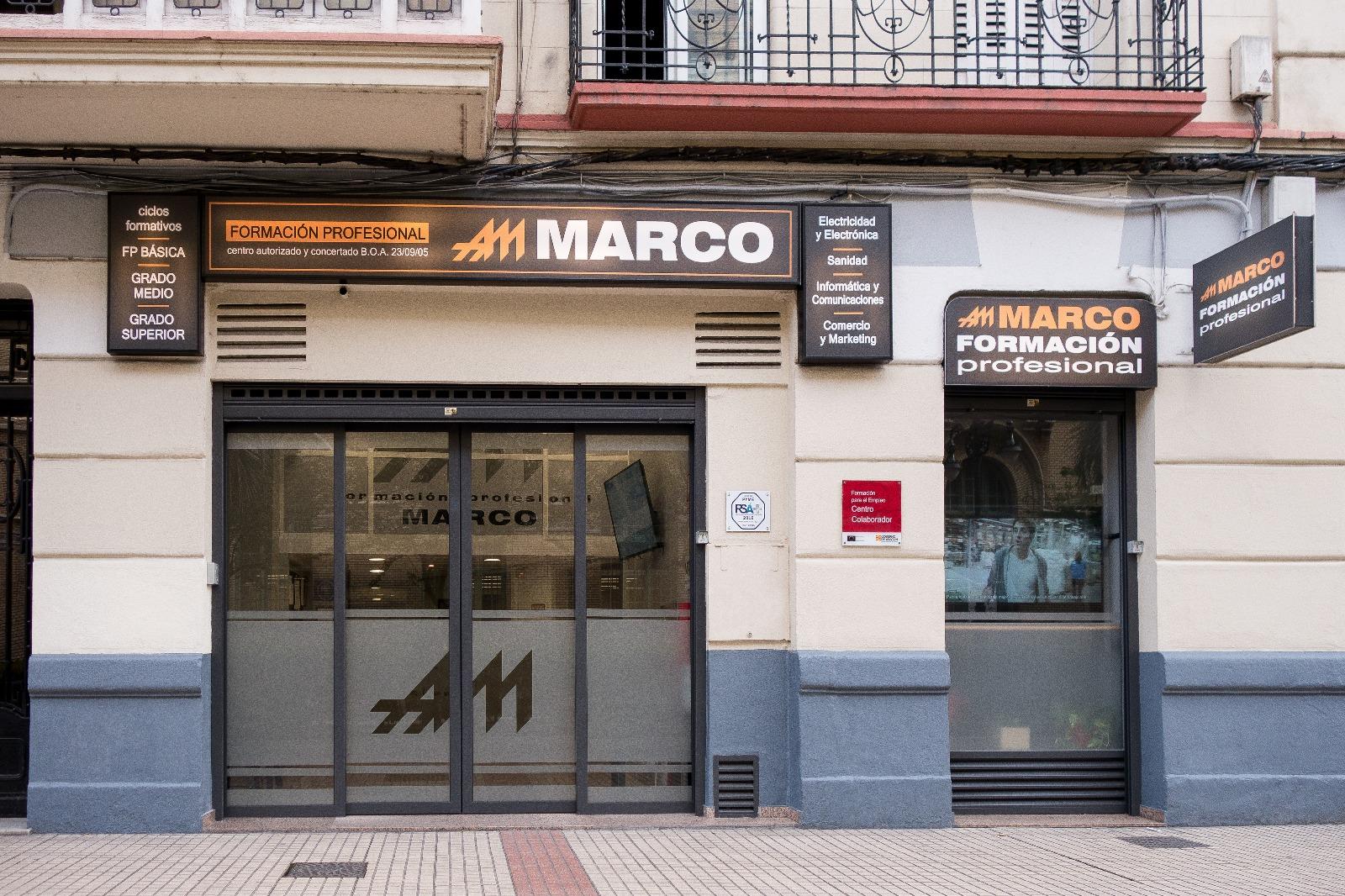 Centro de formación profesional Marco